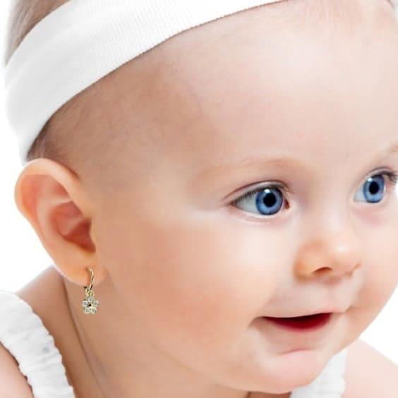 baba fülbevaló aranyból