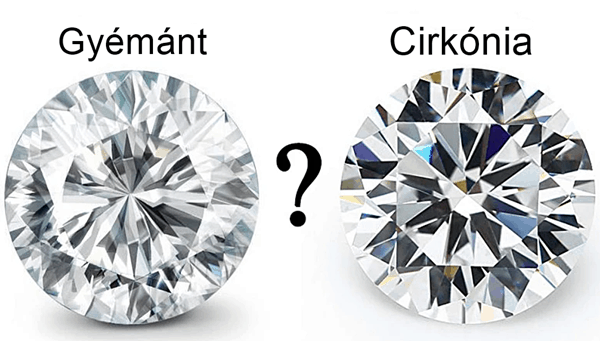 gyémánt, vagy cirkónia kő
